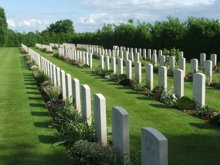 War Graves, St-Charles-de-Percy, Normandy, France