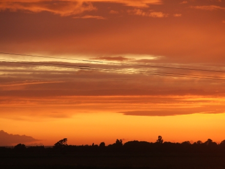 Sunset, South Holland, Lincolnshire