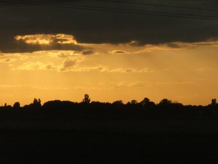 Sunset over Mill Green